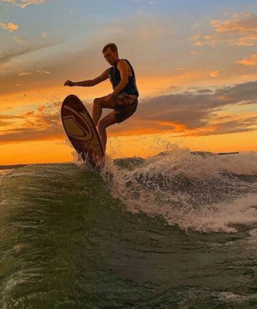 West Point Lake Surfing