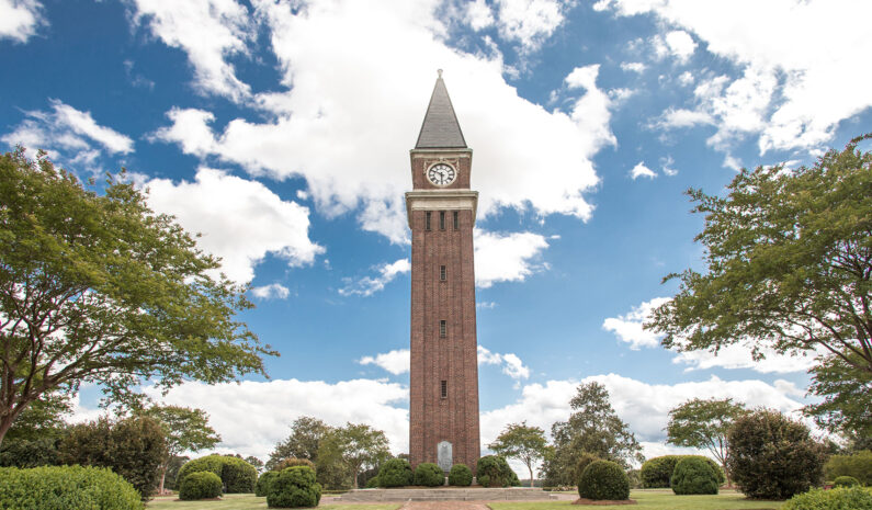LaGrange Georgia Memorial Clocktower
