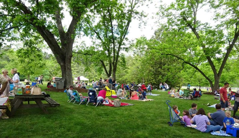 13th Annual Picnic in the Garden hills and Dales