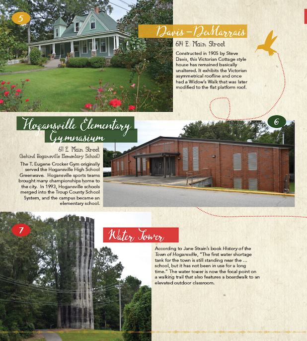 Hogansville Walking Tour